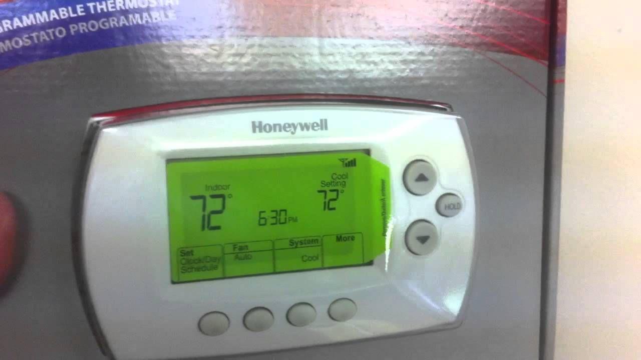 Diy-honeywell Wi-fi Thermostat Install