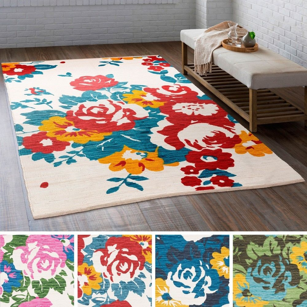 Hand Woven Van Cotton Rug 4 X 6 Cool Rugs Cotton Rug Rugs