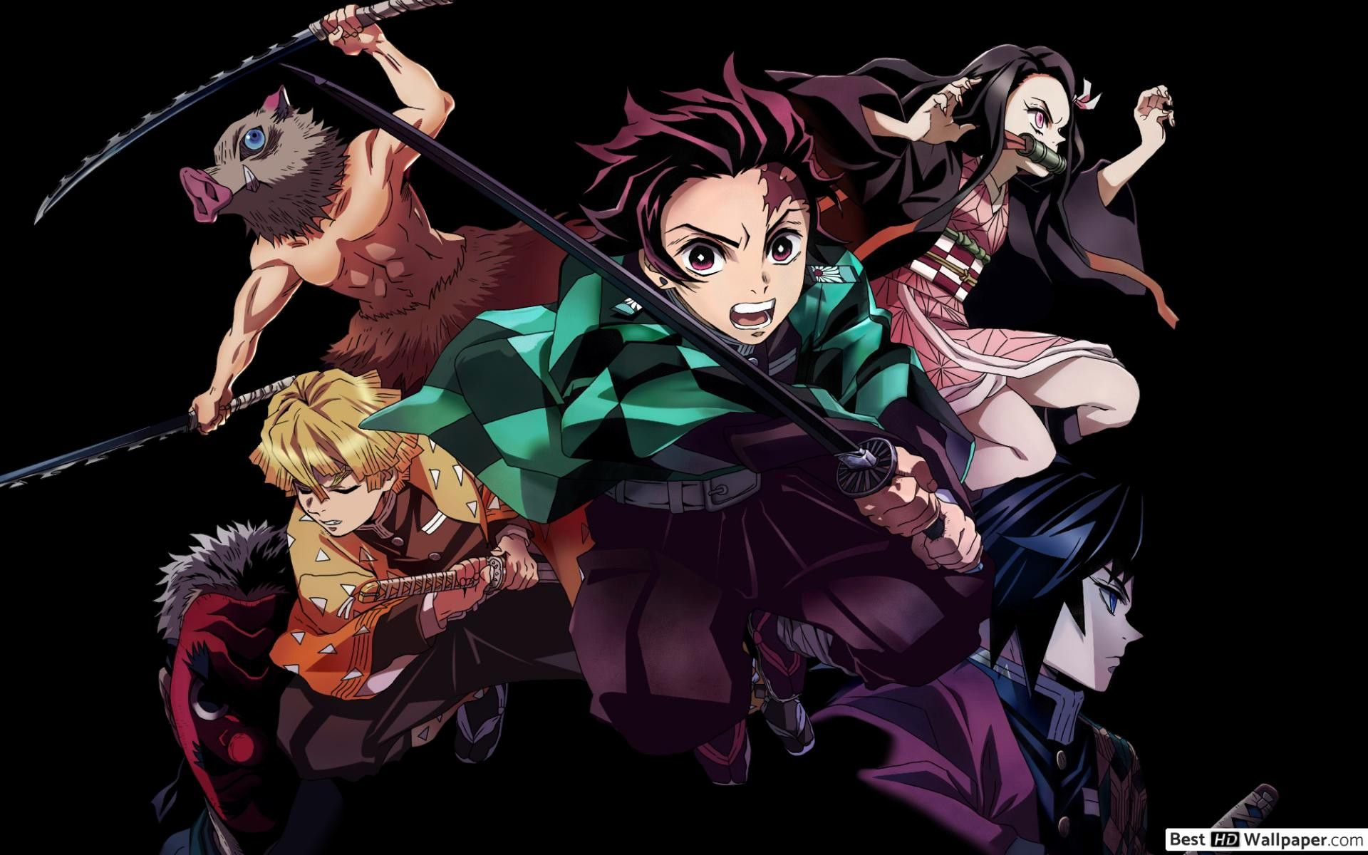 Best Of Demon Slayers Hd Wallpaper (With images) Anime