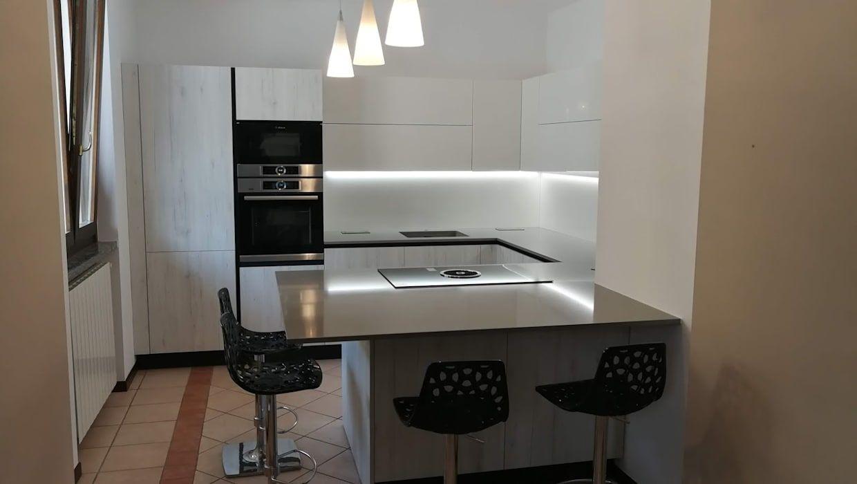 Cucina Moderna Bianca Laccata cucina moderna laccata bianca