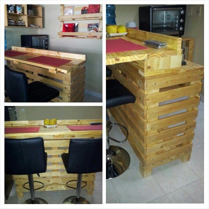 Barradesayunador de palets  Nuestro trabajo  Muebles