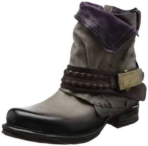 new arrival 5aacc 1b89f Airstep Women's 717207 Biker Boots: Amazon.co.uk: Shoes ...