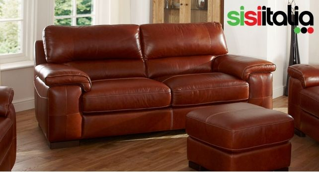 Stupendous Napoli Large 3 Seater Leather Sofa Leather Sofa Luxury Interior Design Ideas Clesiryabchikinfo
