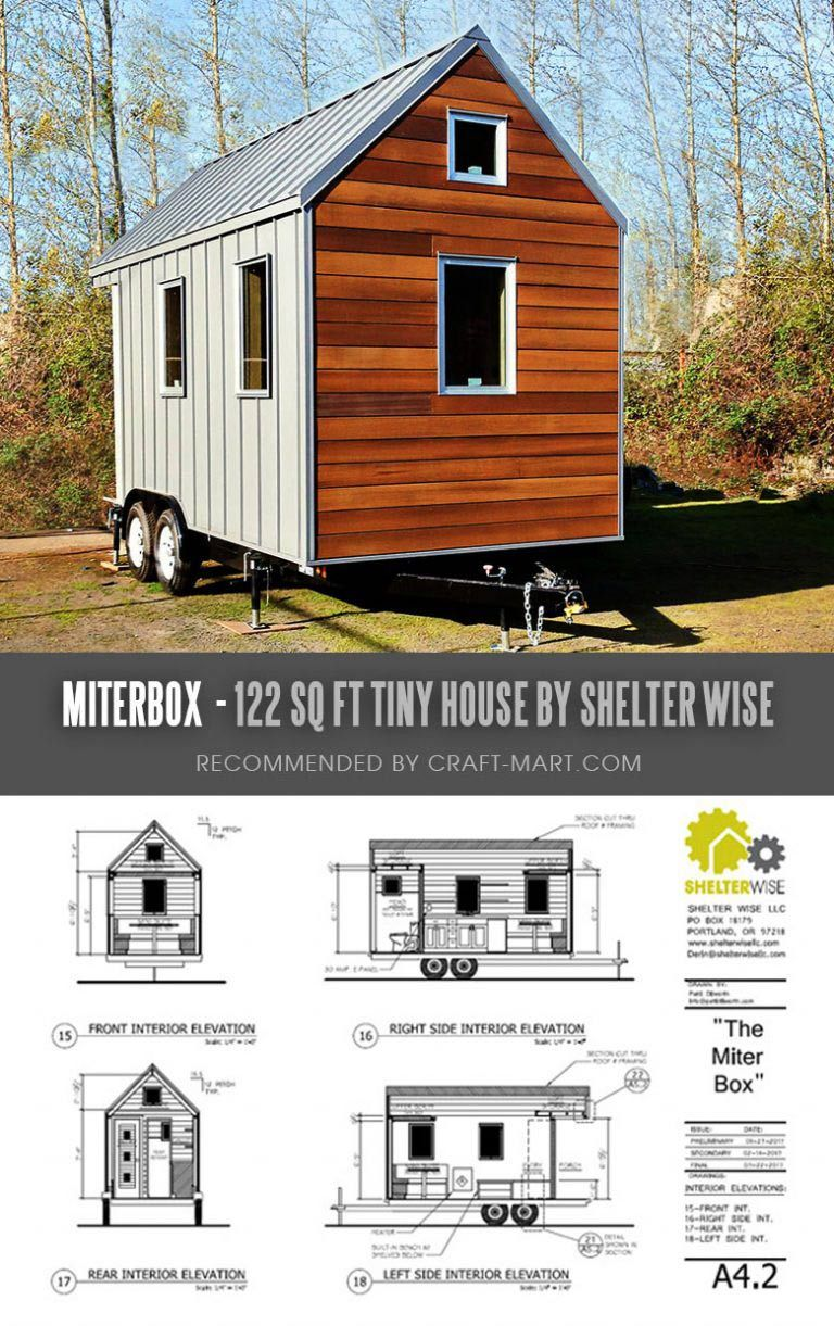 17 Best Custom Tiny House Trailers And Kits With Plans For Super Tight Budget Craft Mart Tiny House Trailer Building A Tiny House Small House