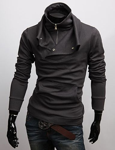 Men's Coats Men's Slim Winter Coat Top Designed Hoody Jacket