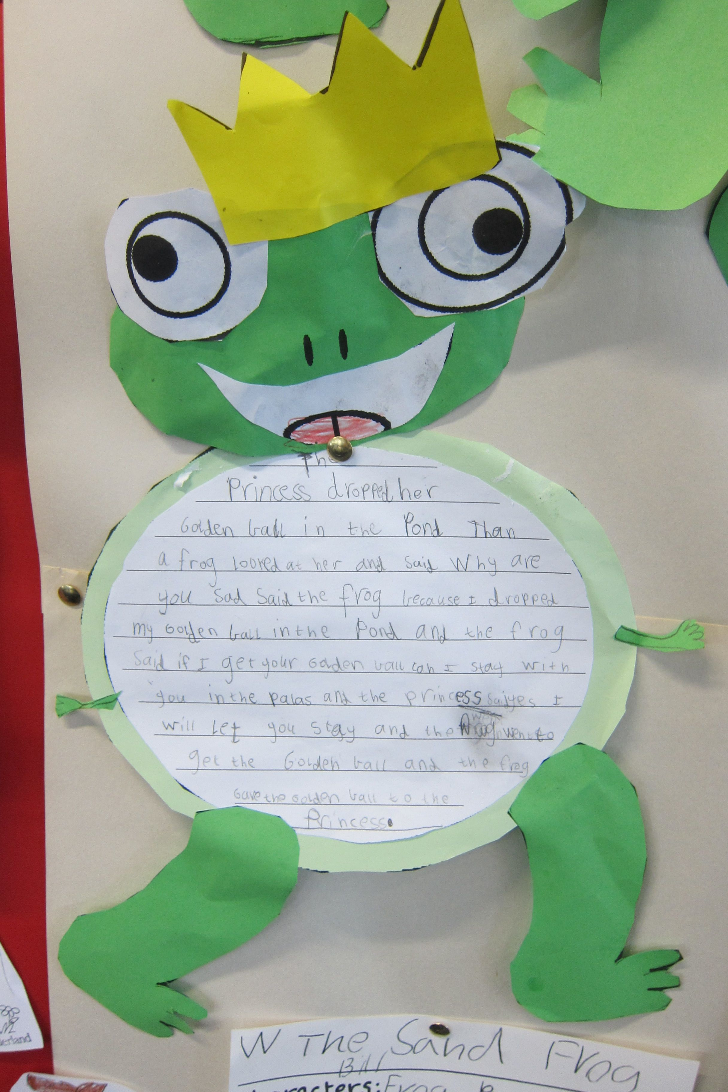 The Frog Prince - Retelling of the story on a frog :) | Fairy Tales ...