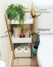 Photo of Idea for organizing your bathroom for your first college apartment …, #bathroom …