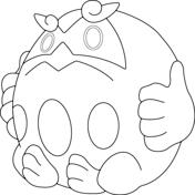 Darmanitan In Zen Mode Coloring Page Coloring Pages Free Coloring Pages Pokemon Coloring Pages
