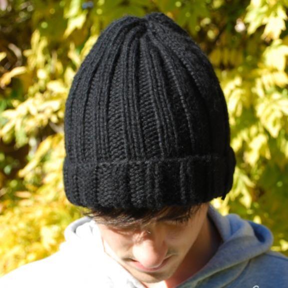 4d597c074f2c3 Modèle gratuit bonnet homme / Filoute | Tejidos | Bonnet homme ...