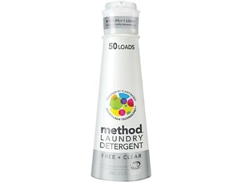 Method 8x Laundry Detergent Free Clear 50 Loads Laundry