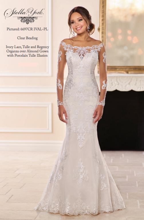 31393b65f35a Stella York 6697   Our Bridal Gowns in 2019   Wedding dresses ...