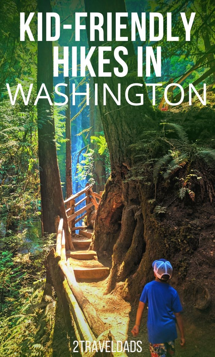 Kid friendly hikes in Washington State: perfect PNW outdoors