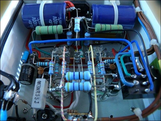 Astounding Meticulous Point To Point Wiring In Single Ended Glow Audio Amp One Wiring 101 Vieworaxxcnl