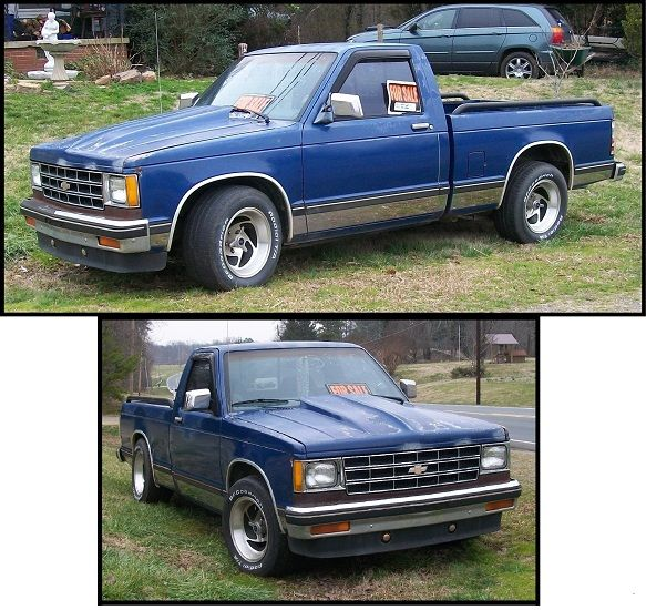 S 10 Trucks For 1984 Chevy S10 V8 350 Crate Motor 15000 Miles