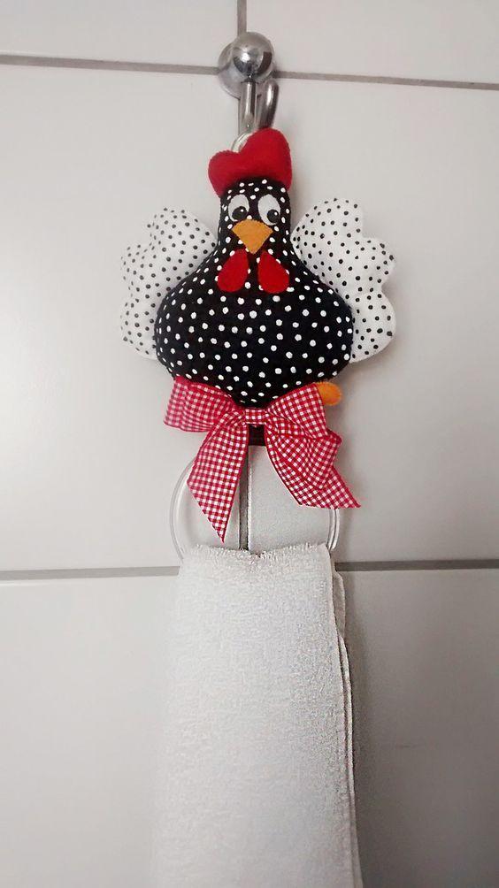 12 Ideas para hacer adornos de tela y fieltro para decorar la cocina