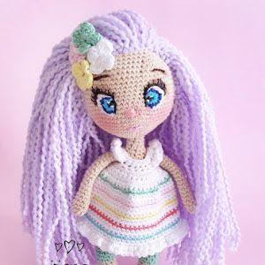 Amigurumi Kıvırcık Saçlı Bebek Yapılışı - Tiny Mini Design #handmadetoys