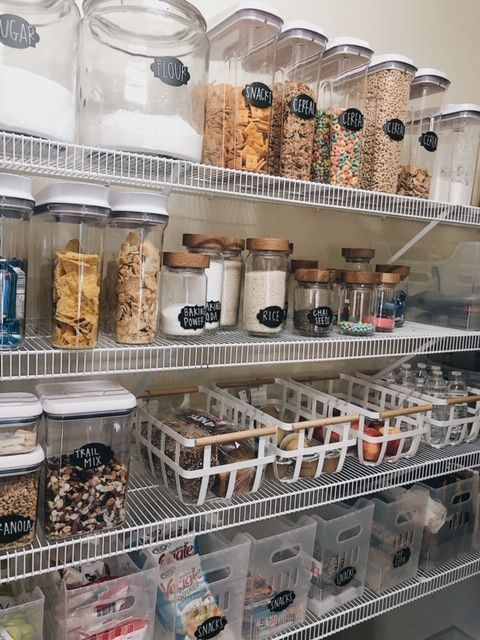 How To Create The Perfectly Organized Pantry — She Gave It A Go – Haus Dekoration