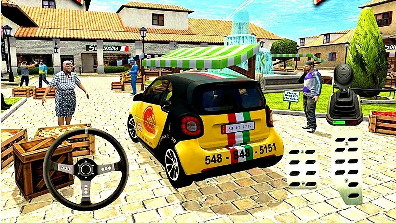 Pizza Delivery Driving Simulator 2 Bike And Car Game Android