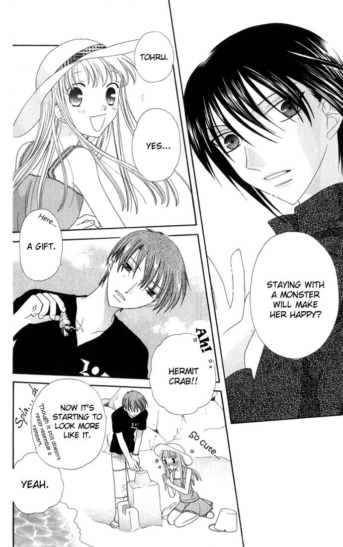I'm glad Akito became happy in the end! Fruits basket