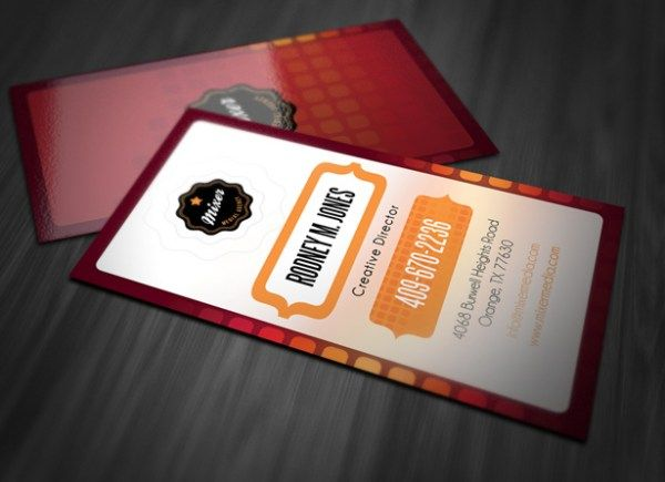 Stylish Vertical Business Card | Design Tips/Tricks | Pinterest ...