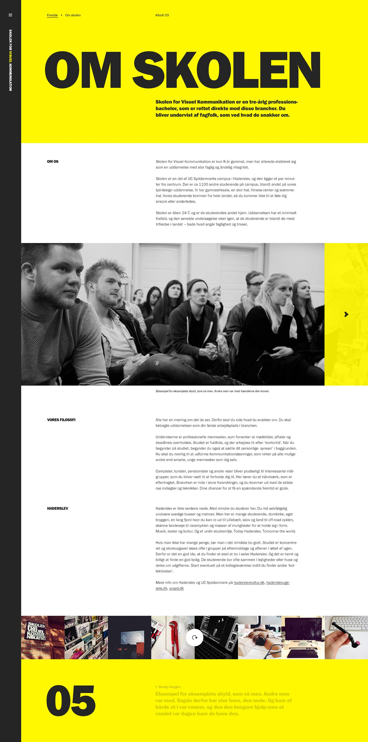 The School Of Visual Communication on Behance web Pinterest