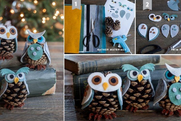 bricoler des cocottes de pin en hiboux pinecone art pinterest bricolage pomme de pin et. Black Bedroom Furniture Sets. Home Design Ideas