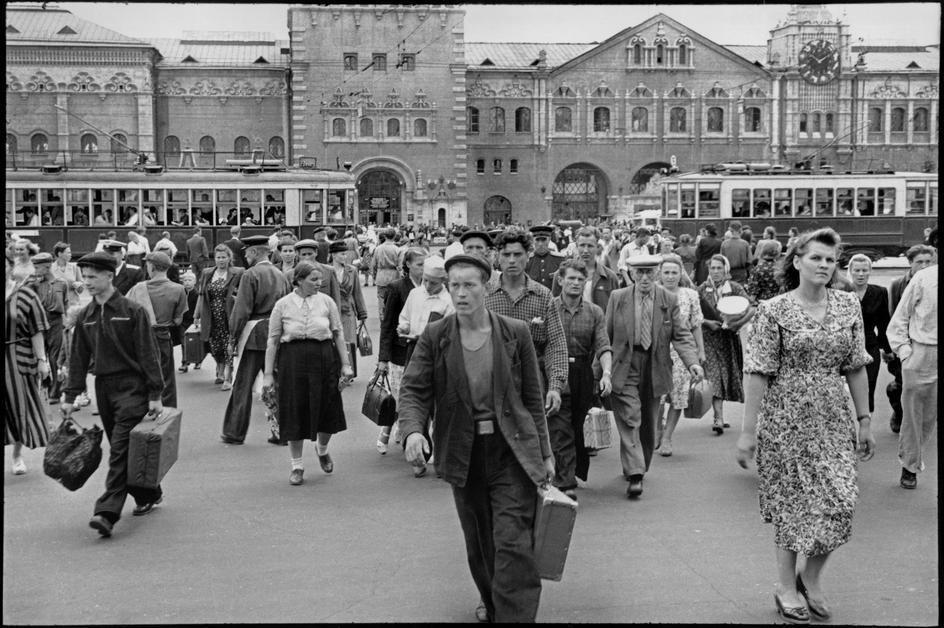 1954. Советский Союз по Картье-Брессону. Часть 2. Москва-2 ...