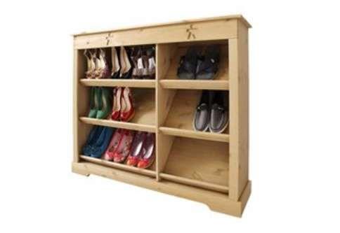 schuhregal flur pinterest schuhregal regal und schuhe. Black Bedroom Furniture Sets. Home Design Ideas