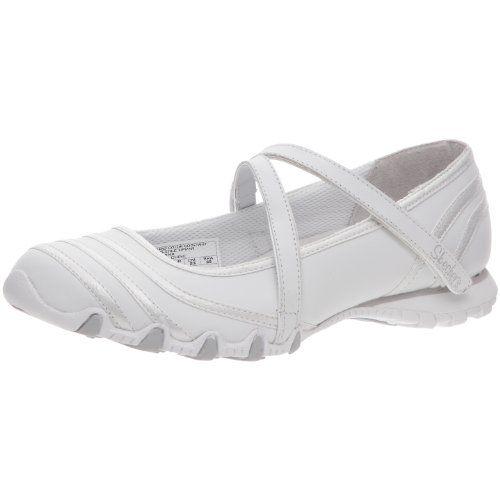 Skechers - Zapatillas de deporte de cuero para mujer le gusta? Haga clic aquí http://ift.tt/2cfFGFD :) ... moda