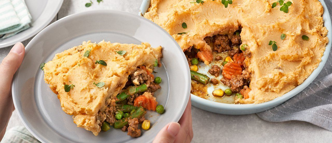 Double Potato Shepherd S Pie Recipe Campbell S Kitchen Shepherds Pie Recipe Campbells Soup Recipes Recipes
