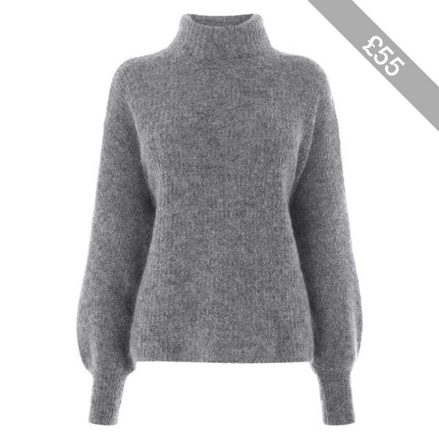 9c24e541091aa8 Warehouse Bell Sleeve Mohair Jumper | Women's fashion | Mohair ...