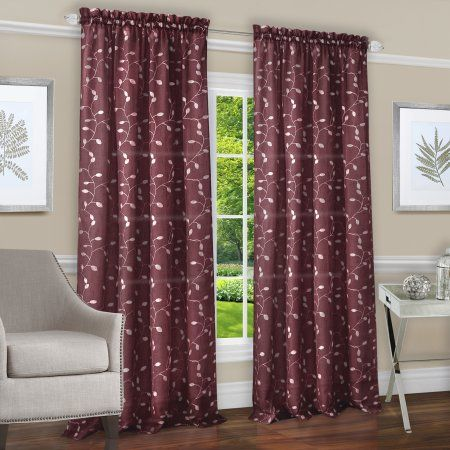 by microsuede brick star sports all of panels set inch brown and red sweet tan modern window jojo designs treatment curtain