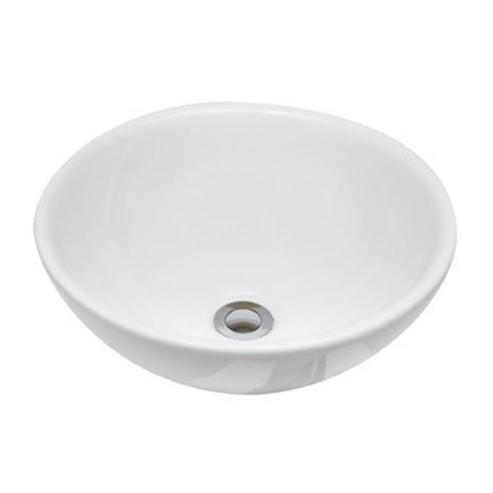 Above counter basins! Try our ROQUEFORT ROUND BASIN – 400Lx400Wx140H ...