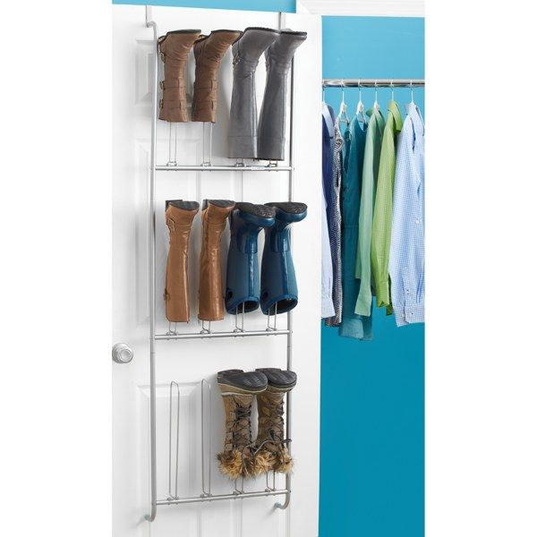 Real Simple Over The Door Boot Organizer   Bed Bath U0026 Beyond Winter Is