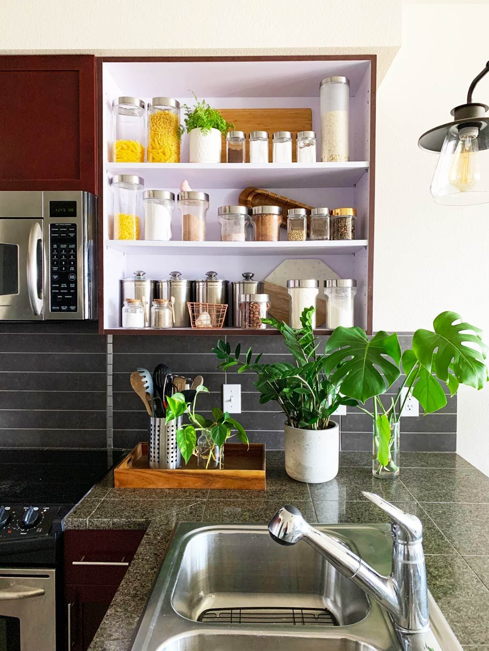 Easy One Day Diy Kitchen Update Remodel Ideas The Budget Decorator Home Decor Updated