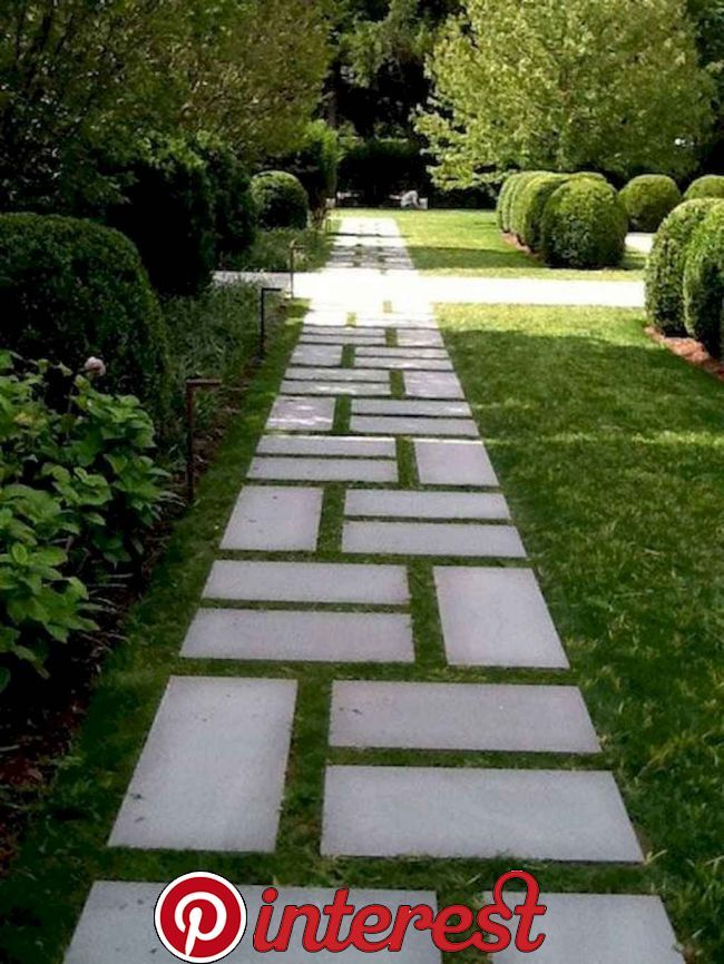 90 Awesome Garden Path And Walkways Design For Your Amazing Garden Garden Paths And Walkways A Front Yard Garden Design Walkway Landscaping Front Yard Garden