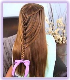 Peinados Para Ninas De Pelo Largo Peinados Para Ninas De Cabello