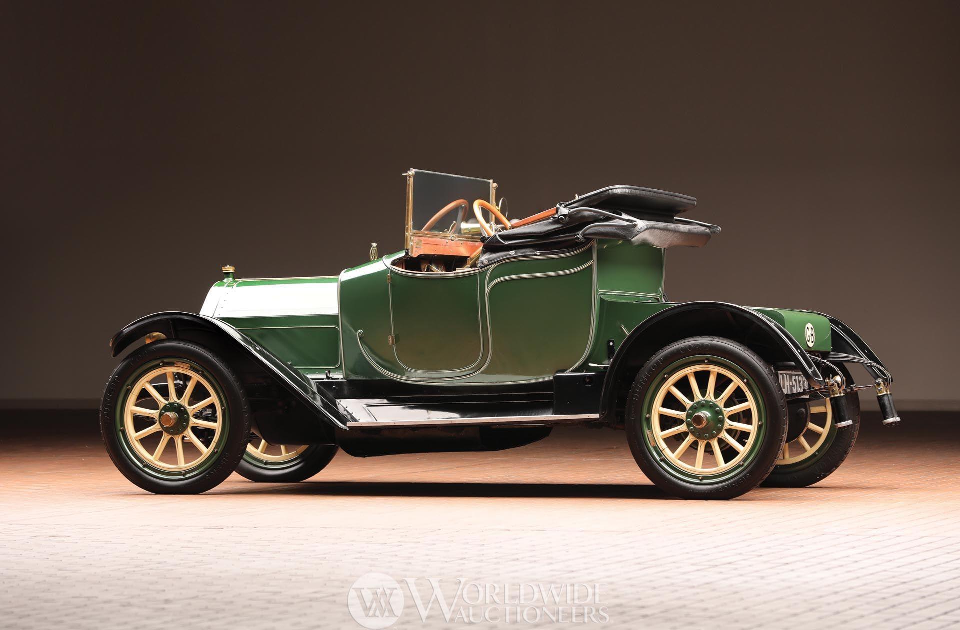1911 Hudson Model 33 Cabriolet Runabout | Hostetler\'s Hudson Auto ...