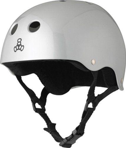 Baja Teal Rubber Triple Eight Snow Audio Helmet Small//Medium