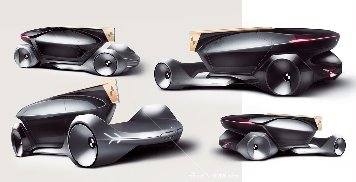 BMW Auriga Autonomous by Fromme, Brunsteiner and Howecker