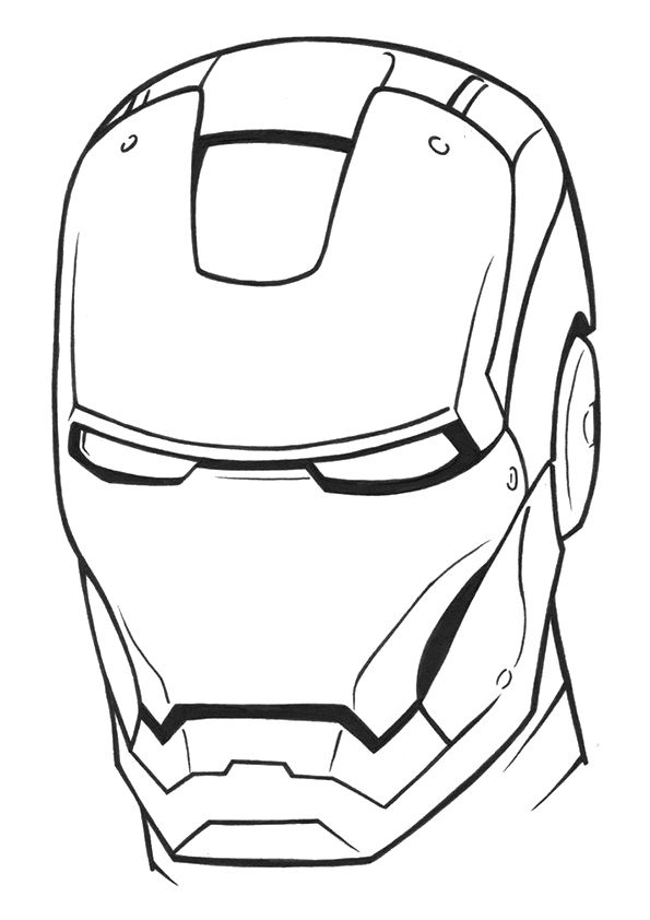 Colorimg Iron Man Drawing Iron Man Drawing Easy Avengers Coloring Pages