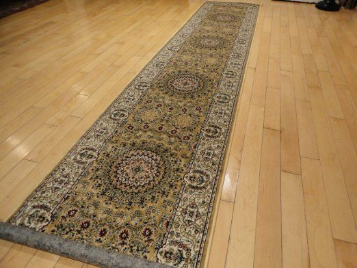 new silk persian 2x12 hallway runner gold long runners for stairs and hallways rug beige cream