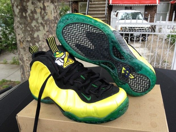 "info for 2dbee fc93a Nike Air Foamposite One- ""Oregon Ducks"" Custom"