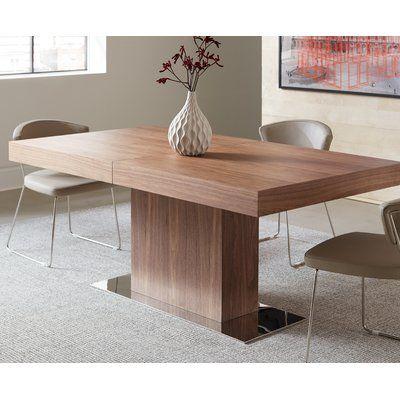 Orren Ellis Gainsborough Extendable Dining Table Extendable