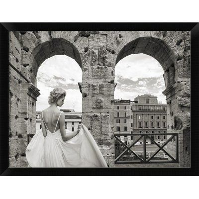 From the Colosseum Rome Framed Photographic Print