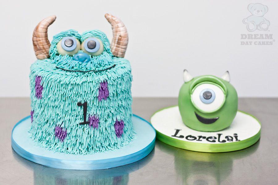 Awe Inspiring Celebrate Monsters University With Cake And Cupcakes Personalised Birthday Cards Epsylily Jamesorg