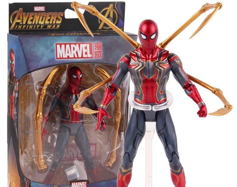 Marvel Spider-Man Spiderman Avengers Infinity War Iron Action Model Figure Toy