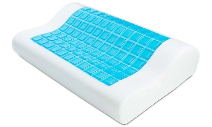 memory au gel pillow kogan ovela top buy cooling foam ovplwmgelsa com