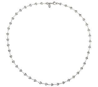 Stainless Steel 20 Heart Strand Necklace Jewerly Pinterest