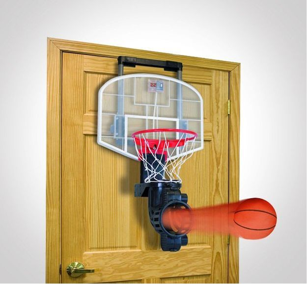 Voldie  Shoot Again Indoor Basketball Hoop Set | 29 Next Level Products You  Need For Your Bedroom: